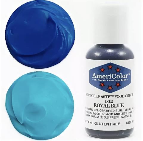 Краситель пищевой AmeriColor 21гр. ROYAL BLUE