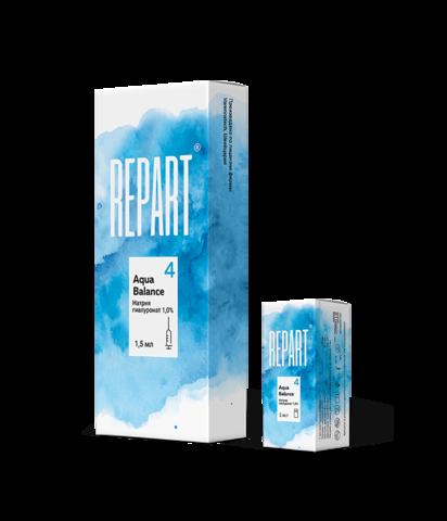 *Натрия гиалуронат для биоревитализации 1% (Repart 4/Aqua Balance/5 мл/320183)