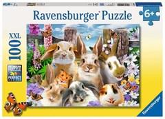 Puzzle Rabbit Selfie  100 pcs