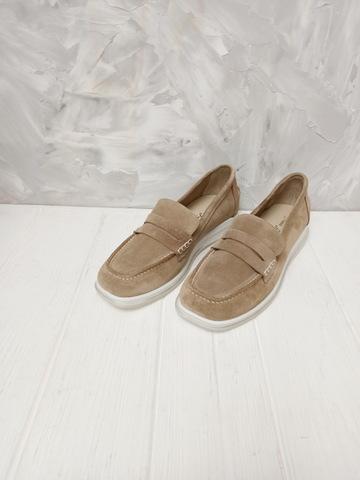 Туфли лоферы женские без каблуков  Anna Lucci,
