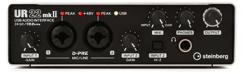Steinberg UR22 MKII Аудиоинтерфейс