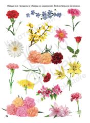 Рабочий блокнот №5 для детей 2-5 лет Фрукты и цветы