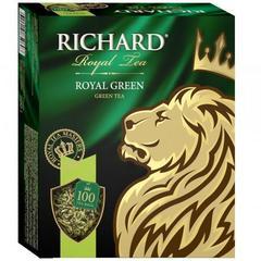 Чай зеленый «Richard» Royal Green 100 пакетиков