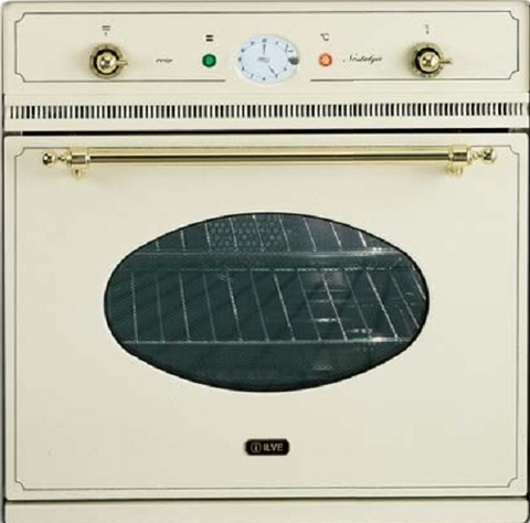Электрический независимый духовой шкаф ILVE 600 NMP A античный белый