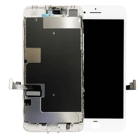 LCD Apple iPhone 8Plus White (Incell) with Small Parts and Frame