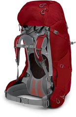 Рюкзак женский туристический Osprey Ariel Plus 85 Carnelian Red - 2