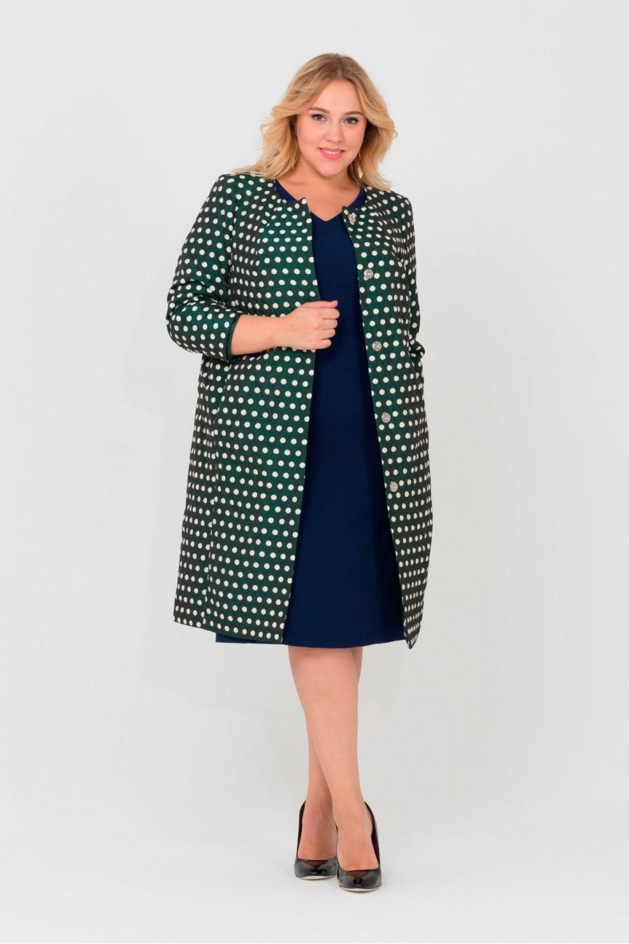 Верхняя одежда Пальто Горох зеленый 2-900x1350.jpg