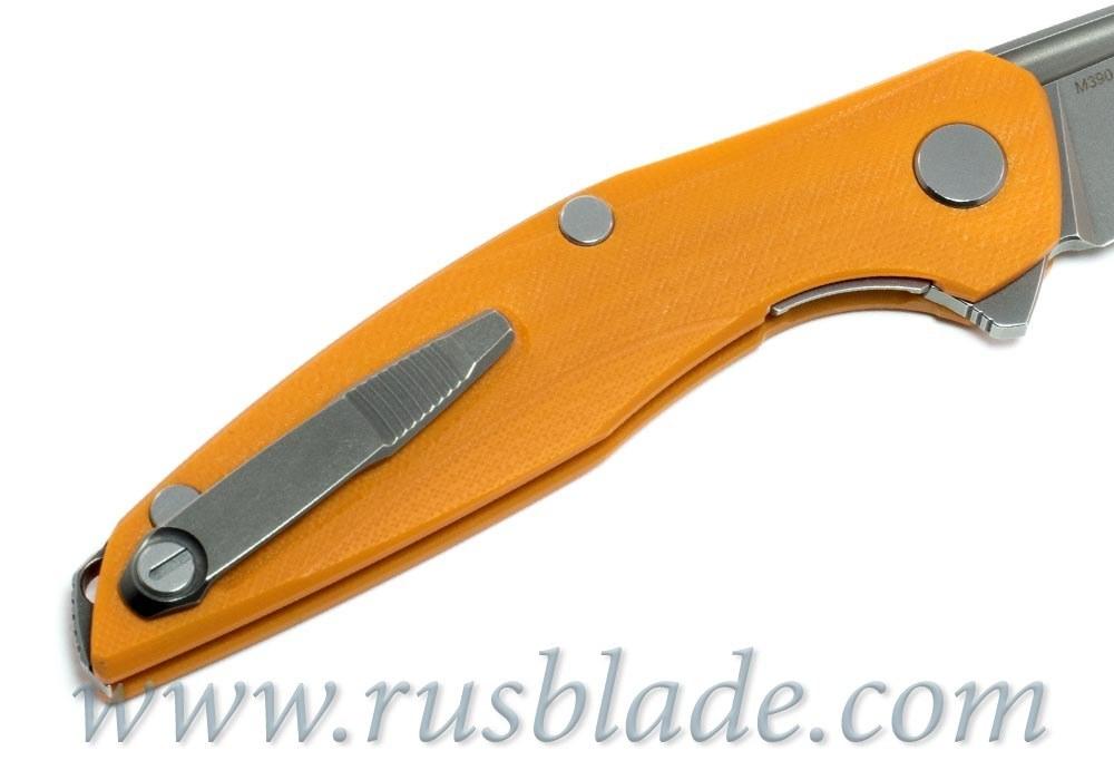 Shirogorov 111 M390 G10 orange 3D MRBS - фотография