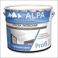 Краска для влажных помещений ALPA Profi 3 (Белый)