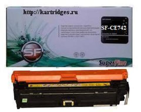 Картридж SuperFine SFR-CE742A