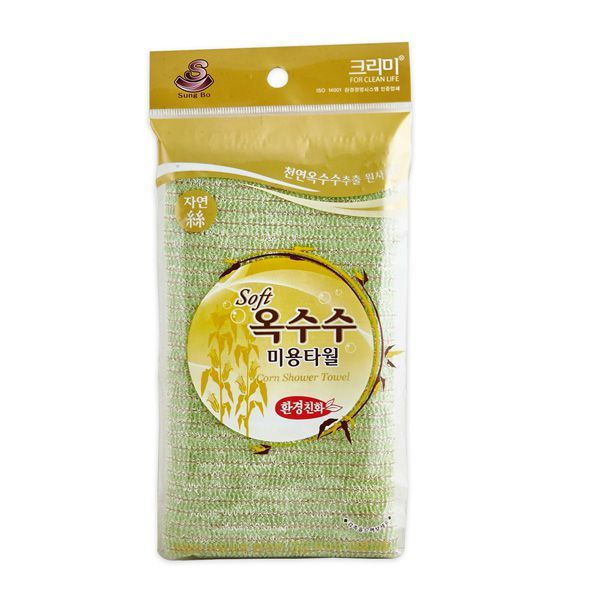 Мочалка для душа из кукурузного волокна Corn Shower Towel, SUNGBO CLEAMY
