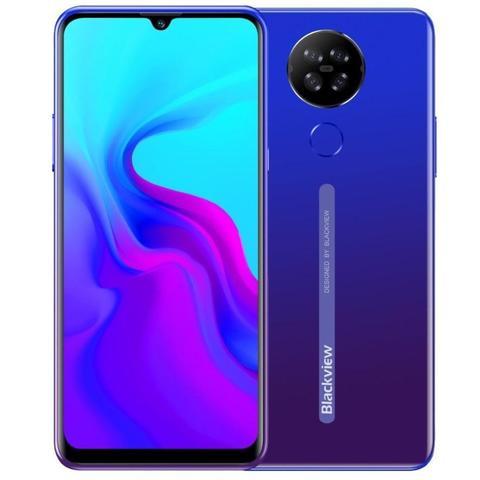 Мобильный телефон Blackview A80s синий