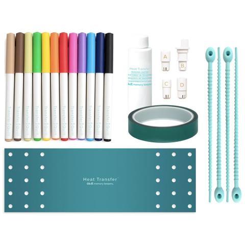 Набор для нанесения термотрансферного рисунка  Heat Transfer Quill Kit by We R Memory Keepers