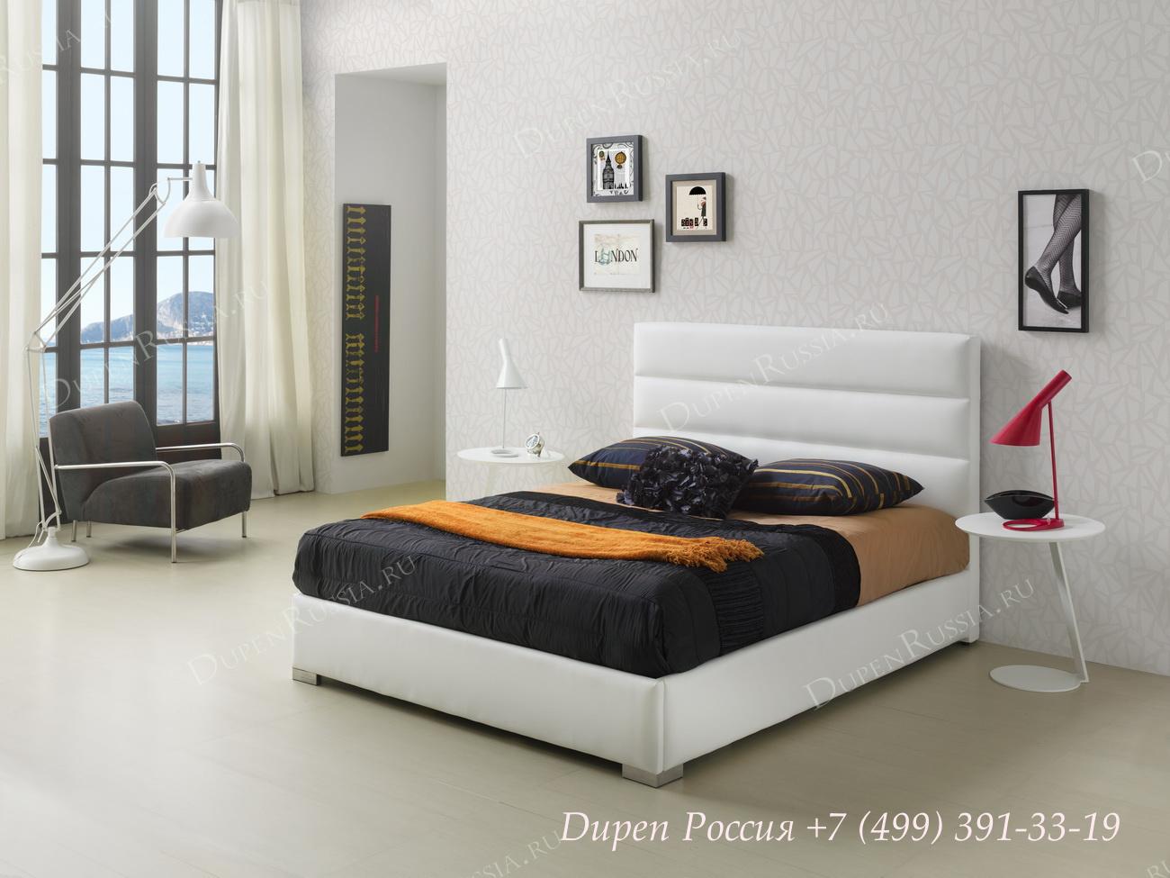 Кровать Dupen 734 Lidia, Тумба Dupen М-129