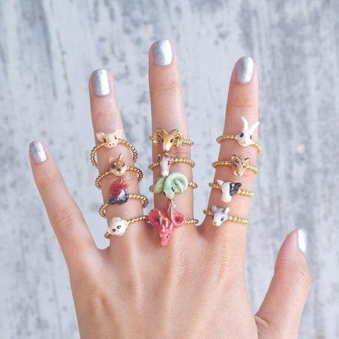 Мини-кольцо Дракон