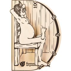 Термометр «В здоровом теле-здоровый дух» 19,8х13,4х3,3 см