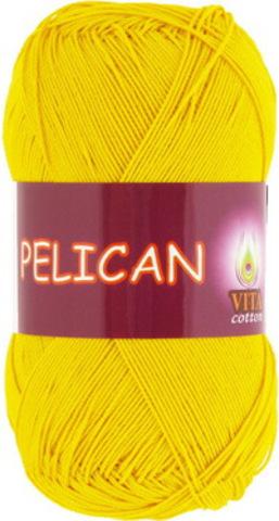 Пряжа Pelican (Vita cotton) 3998 Желтый