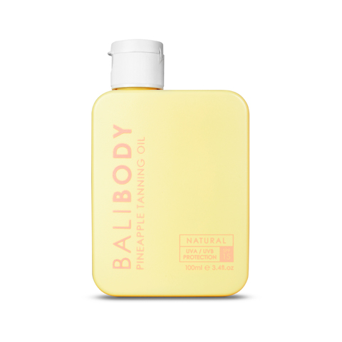 BALIBODY Масло для загара с экстрактом ананаса с защитой SPF 15 Pineapple Tanning Oil