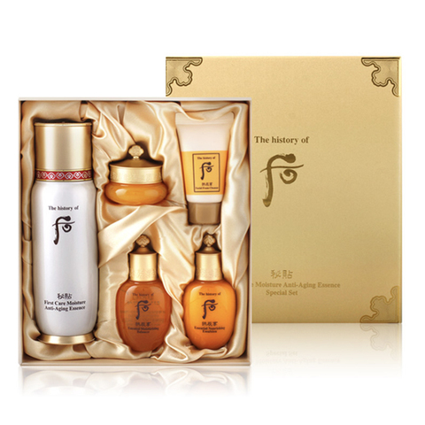 The History of Whoo First Care Anti-Aging Moisture Essence, 85 мл