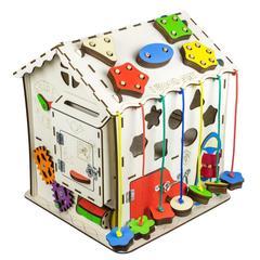Дом Счастливый ребёнок с магнитным полем для рисования мелками.Размер 30 30 40