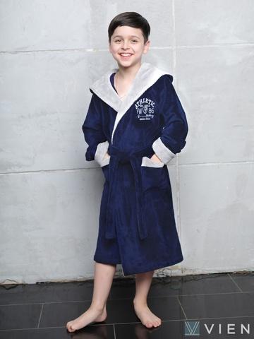 Athletic Junior (Denim) халат для мальчика подростково-детский  Five Wien (Турция)