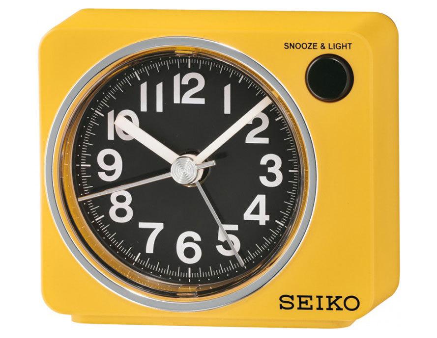 Настольные часы-будильник Seiko QHE100YN