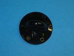 Ручка режимов духовки Gorenje (черная)