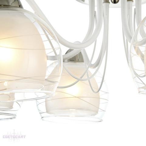 Люстра потолочная FR5052-CL-06-W серии Nikki