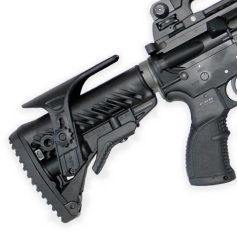 Тактический приклад FAB-Defense с подщечником GLR-16 CP