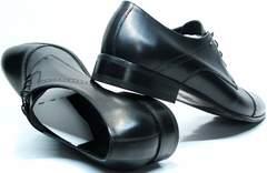 Стильные мужские туфли Икос 2235-1 black.
