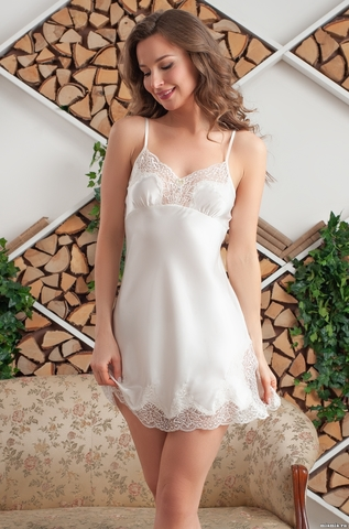 Короткая сорочка 3181 ISABELLA  (70% шелк)