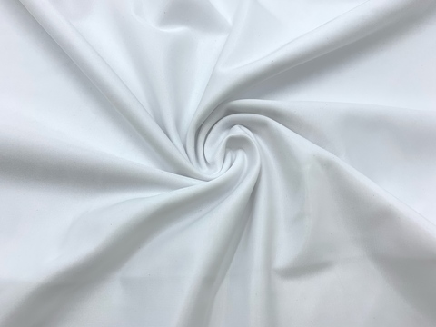 Ткань бельевая утягивающая, белая (метражом)