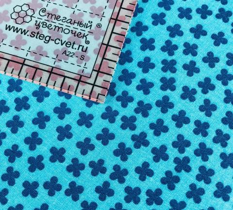 Ткань для пэчворка, хлопок 100% (арт. RK0704)