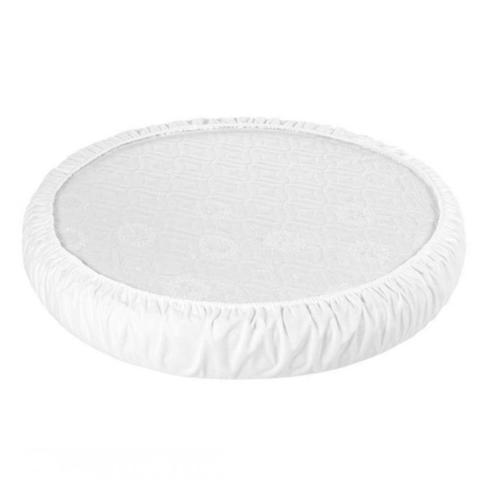 Наматрасник аква-стоп на резинке для круглых/овальных кроваток
