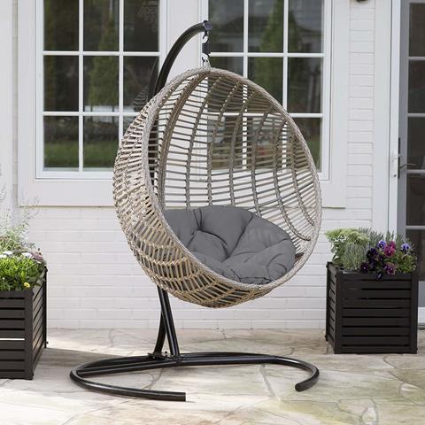 Подвесное кресло-кокон САЛЬДИВИЯ + каркас + подушка