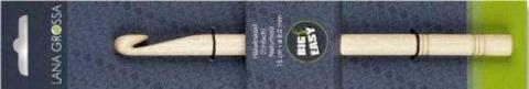 Lana Grossa Крючок деревянный без ручки Big&Easy, № 7, 15 см