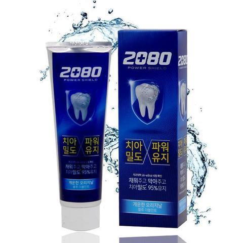 Aekyung Dental Clinic 2080 Power Shield Gold Зубная паста с мягким мятным вкусом 120 гр /36