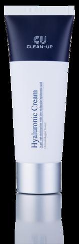 Купить CU SKIN CLEAN-UP Hyaluronic Cream - Гиалуроновый крем для жирной и чувствительной кожи