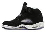 Кроссовки Мужские Nike Air Jordan V Retro Black White