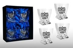 Подарочный набор стаканов для виски «Элитный», фото 1