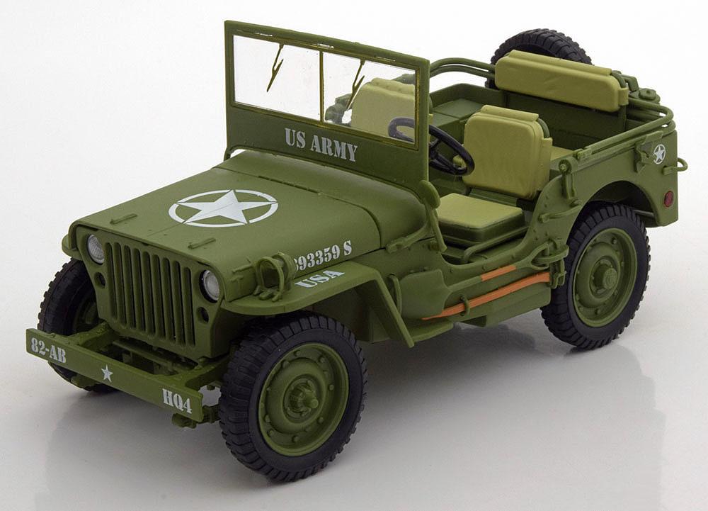 Коллекционная модель Jeep Willys US Army 1944 Dark Green