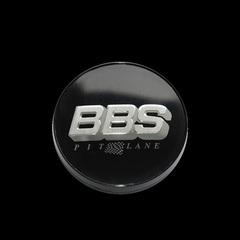 Крышка центрального отверстия BBS Pit Lane 56.0 мм silver/black