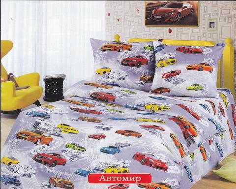 Комплект постельного белья АвтоМир Бязь 150 см