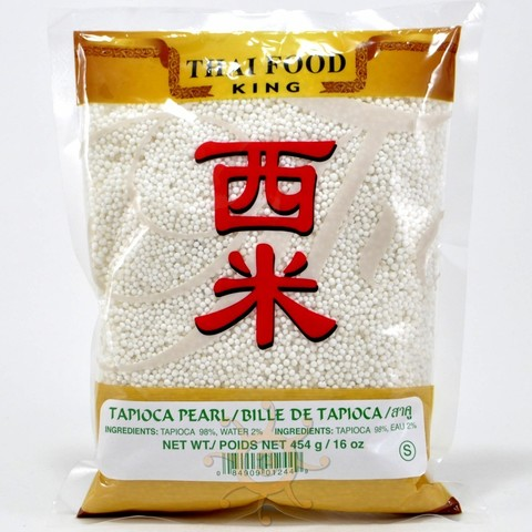 Тапиока (саго) шарики маленькие Thai Food King, 454г