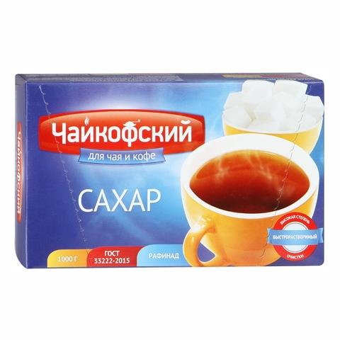 Сахар РУСАГРО ГОСТ Чайкофский кусковой 1 кг РОССИЯ