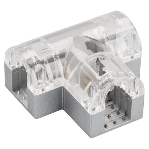 Соединитель тройной ARL-CLEAR-U15-2x90 (26x15mm) (ARL, Металл)
