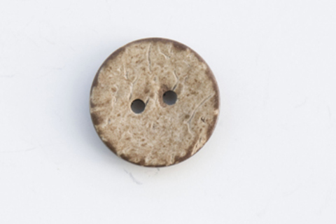 Пуговица из кокоса светлая, 20 мм