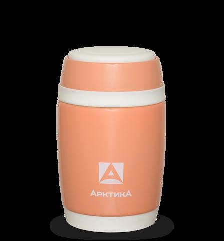 Термос для еды Арктика (0,48 литра), коралловый