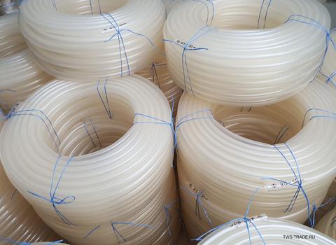 анг Ø 25 мм толщина стенки 2.5 мм прозрачный силиконовый (50 м в бухте)