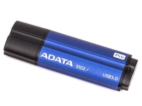 Флешка ADATA 32Gb S102 PRO синий алюминий (Read 600X) AS102P-32G-RBL
